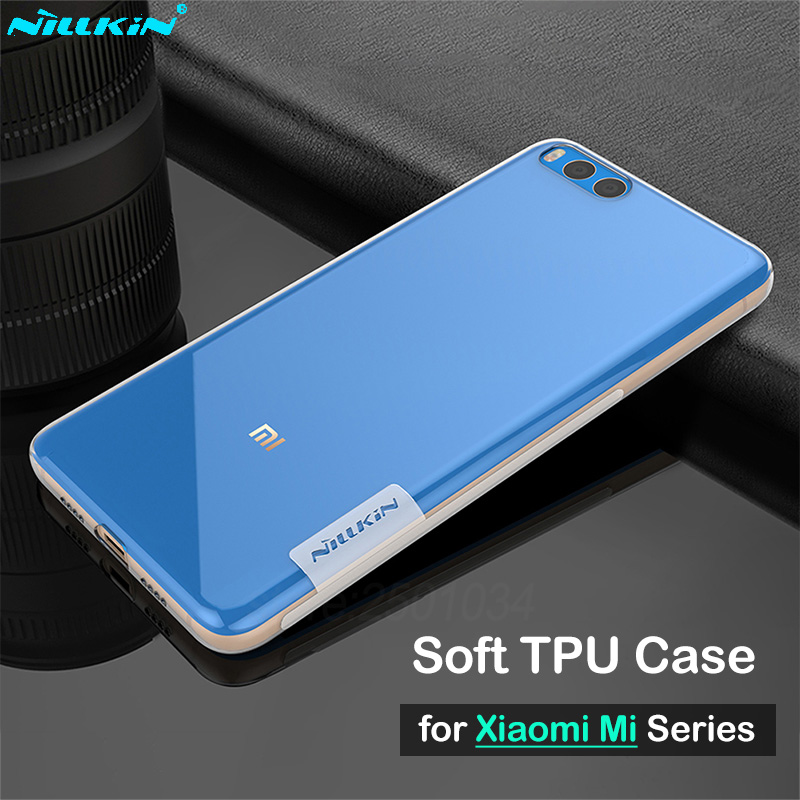 Nillkin Clear Soft Nature Tpu Case For Xiaomi Redmi Note 5 6 Pro Case Cover Thin Silicon Cover For Redmi 6 Pro Mi A2 Lite Boys' Shoes
