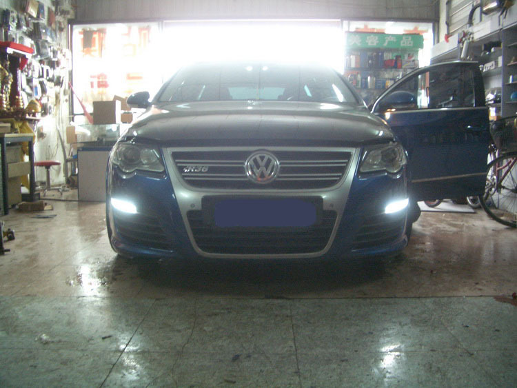 NEW arrival for VW R36 led drl daytime running light super bright with dimmer function and