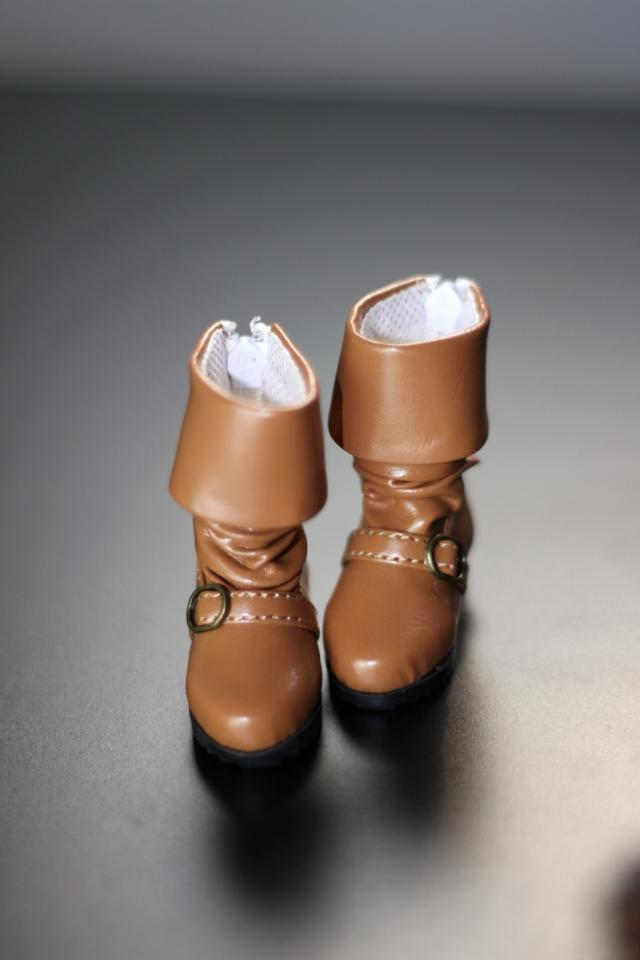 BJD  doll shoes Doll accessories black / apricot  boots  leather shoes 1/6 YOSD size bjd doll shoes doll accessories chocolate martin boots 1 4 id 1 3 sd17 uncle