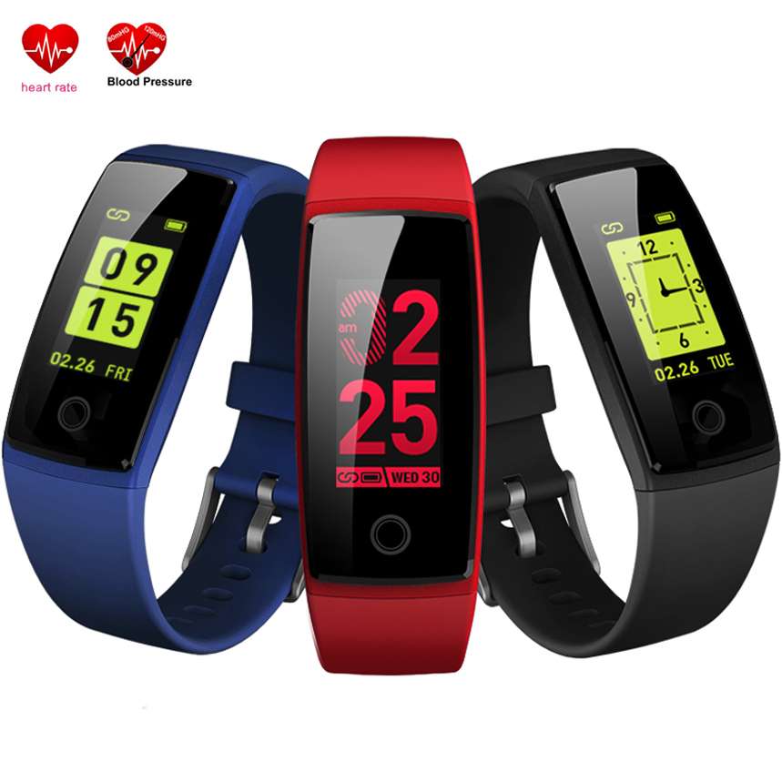 Smart Bracelet Female Physiology Period Remind Sport Stopwatch Watch Heart Rate Blood Pressure Monitor V10 Band Fitness Tracker
