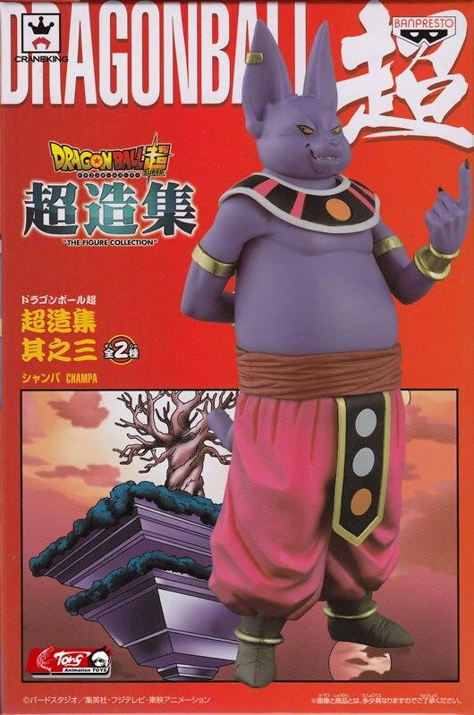 Japanese Anime DRAGONBALL Dragon Ball Super Original BANPRESTO Chozousyu Collection Figure Vol 3 Champa