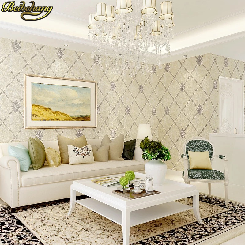beibehang deerskin Modern geometry wallpaper for walls 3 d papel de parede 3d Living Room Bedroom 3d flooring wall paper sticker beibehang custom marble pattern parquet papel de parede 3d photo mural wallpaper for walls 3 d living room bathroom wall paper