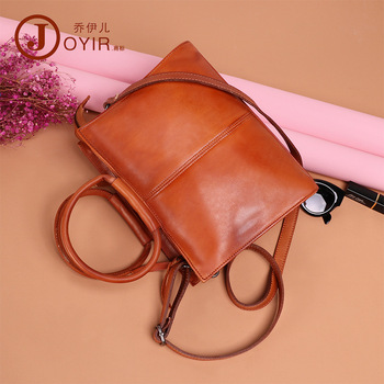 Joyir Genuine Leather Handbags Classic Luxury Women Shoulder Bag Fashion Casual Pure color Female Shoulder Bag Sac a Main