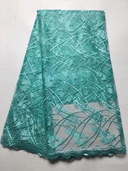 Best Selling Swiss Voile Lace African Lace Fabric Nigerian French Fabric 2017 High Quality French African Tulle Bead Lace Fabric