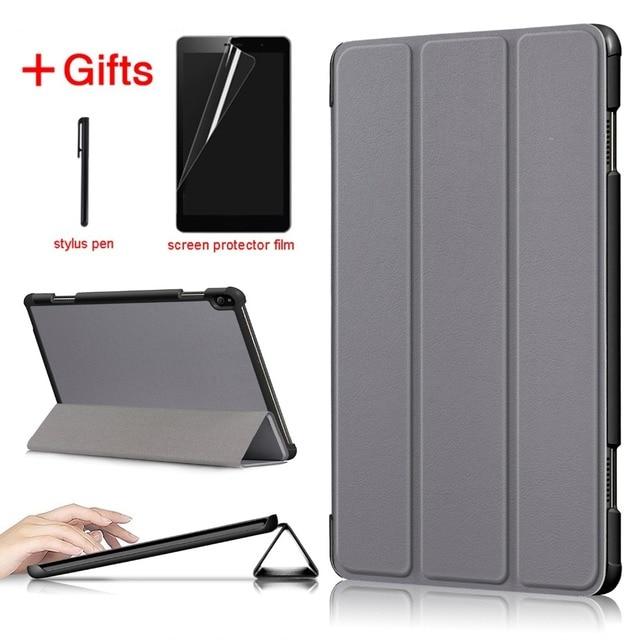 Magnetic magro Folding caso capa Para O Lenovo Tab P10 TB-X705F TB-X705L caso Inteligente Para Lenovo Tab caso P10