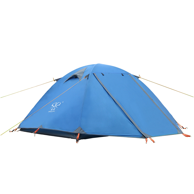Outdoor Carpas Camping Tent Beach Fishing Hunting Tents Awning Ultralight Tente Toldo 2-3 People Tonnelle De Jardin high quality outdoor 2 person camping tent double layer aluminum rod ultralight tent with snow skirt oneroad windsnow 2 plus
