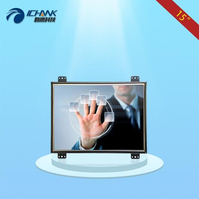 K150TC-DUV-2/15 дюймов Open frame сенсорный монитор (поддержка Ubuntu системы)/15 дюймов HD Встроенный металлический каркас промышленные сенсорный дисплей;