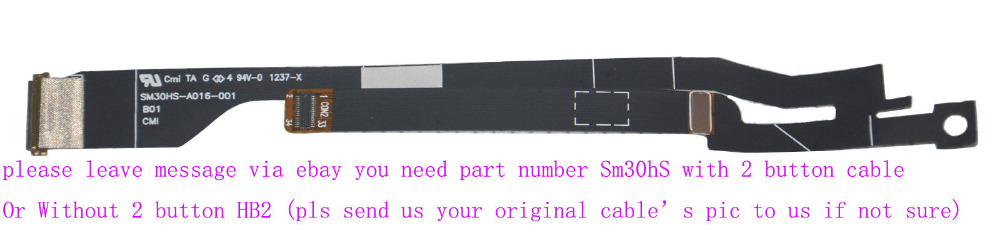 LCD Flex cable for Acer Ultrabook S3 951 S3-391 2464G MS2346 ,SM30HS-A016-001,HB2-A004-001 for B133XTF01 .0 B133XW03 LED