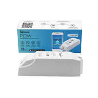 ITEAD Sonoff Pow Wireless Remote Control WiFi Switch ON Off 16A With Power Consumption Measurement For