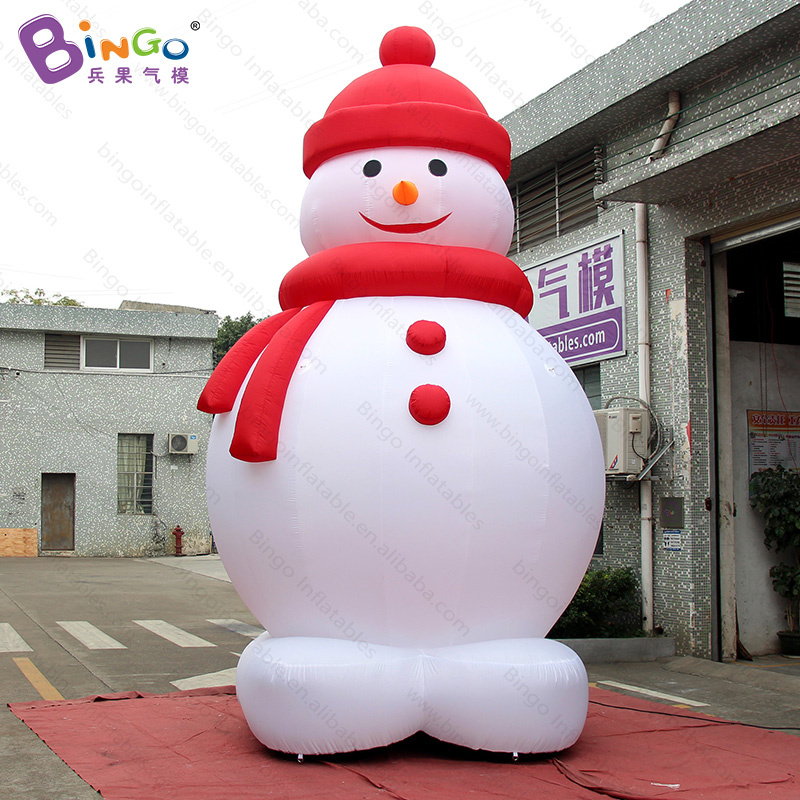 Analytical Personalized 16ft Tall Inflatable Snowman / Christmas Inflatable Snowman / 5m Inflatable Christmas Snowman For Decoration Toys Latest Technology