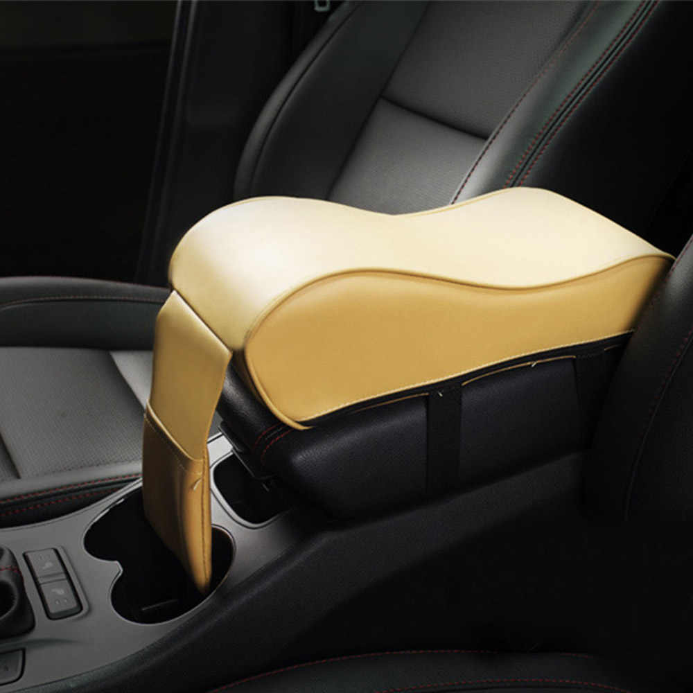 Car Armrest Pad Auto Armrests Car Center Console Arm Rest Seat Box Pad Universal Vehicle Protective Car Styling