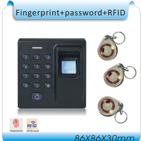 Newset Fingerprint Access Controller ID Card Password No Software Simple And Practical 10 Pcs ID Card