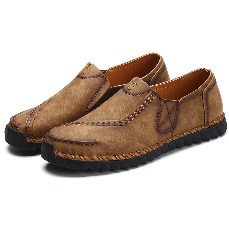 Handmade Men S Casual Shoes Spring And Autumn Summer