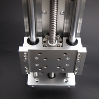 Ballscrews SFU1605 Cross Electric Sliding Table Effective Stroke 100 1000mm XYZ Axis SBR Column Guide for CNC Engraving Machine