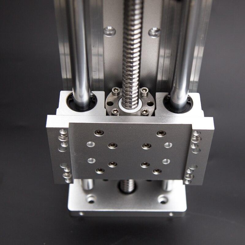 Vis à billes SFU1605 Croix Électrique Table Coulissante Course Effective 100-1000mm XYZ Axe SBR Colonne Guide pour CNC Gravure Machine
