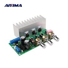 AIYIMA 2,1 усилитель сабвуфера Аудио плата 18Wx2 + 32 Вт TDA2050 + TDA2030A мощность звуковые усилители усилитель аудио усилитель домашнего кинотеатра