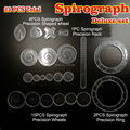 Spirograph Drawing Design Tin toy set 22PCS Spiral Designs Interlocking Gears & Wheels Creative Drawing Educational toy for kids