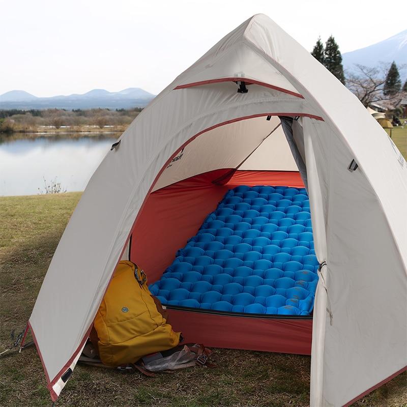 Naturehike Nylon TPU Sleeping Pad Lightweight Moisture proof Air Mattress Portable Inflatable Mattress Camping Mat in Camping Mat from Sports Entertainment
