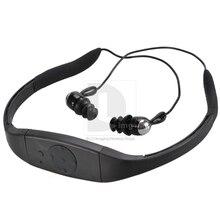 Nueva Caliente 4 GB Impermeabilizan MP3 Music Player FM Radio Natación Surf SPA IPX8 Deportes P0005343