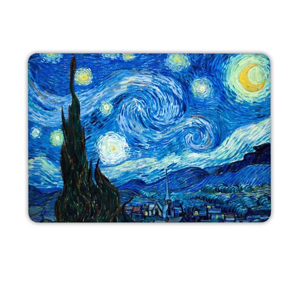 Starry Night Laptop Case for Macbook Pro 13 15 Case A1706 A1708 A1707 - Նոթբուքի պարագաներ - Լուսանկար 5