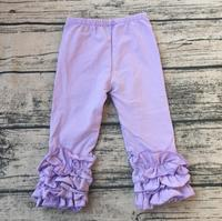 newest product for 2017 children pure color legging pants toddler cheap icing trousers