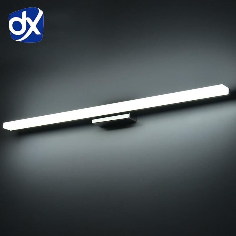 Longer LED Mirror Light 0 4M 1 5M bathroom light AC90 260V modern vanity. Compare Prices on Bathroom Vanity Mirror Lights  Online Shopping