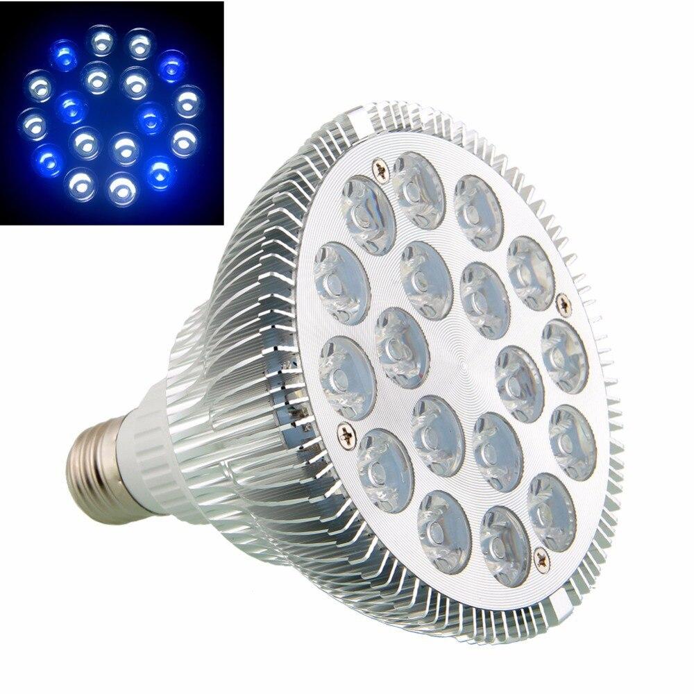 Fish aquarium light bulbs - 8x E27 Aquarium Plant 54w Led Light Grow Lighting Led Bulb Lamp 18x3w Coral Reef White