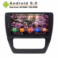 Android 8 0 Car Video Player for VW SAGITAR 2012 2014 GPS Navigation Car Multimedia Player
