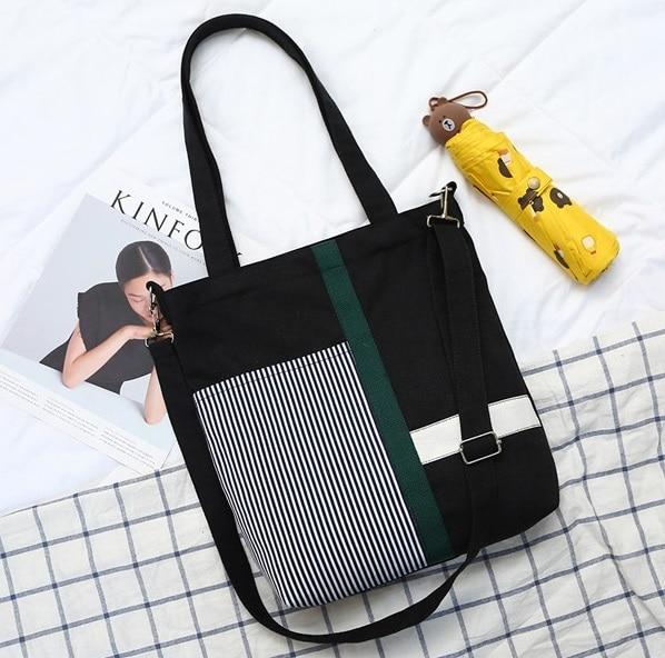 Canvas printing shoulder crossbody bags messenger bags folk-custom women female youth student