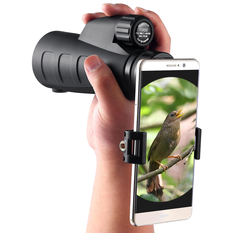 все цены на Eyeskey HD BAK4 Optics Portable Waterproof Nitrogen 10x50/12x50/15x50 Zoom Monocular Binocular Telescope for Hunting Outdoor
