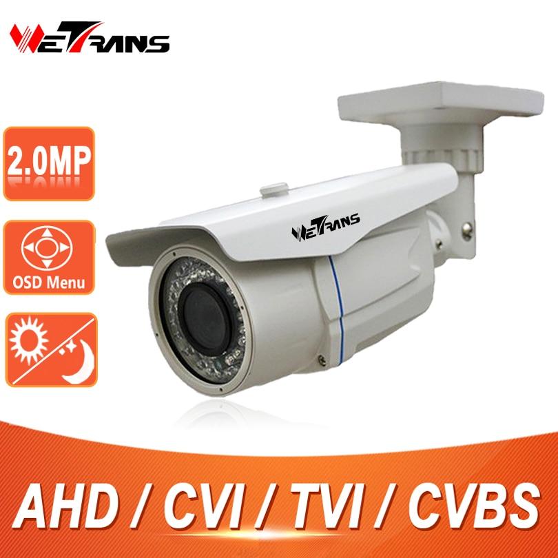 CCTV Camera AHD 1080P HD CVI TVI SONY CMOS 60m Long Distance Night Vision Waterproof IP66 Security Camera 2.0 Megapixel Cam CCTV 2016 economic cmos 2 0 megapixel 1080p vandalproof waterproof ahd dome cctv camera system