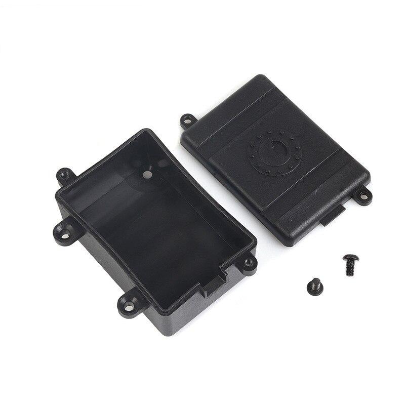 Plastic Receiver Box ESC Box For 1/10 RC Crawler Car Axial SCX10 RC4WD D90 D110 Upgrade Parts