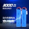 2016 последнее горячие 7.4 В Вольт 3000 мАч 20C Max 2 S 2 Клетки RC LiPo Li-Poly Батареи СКТ поддержка