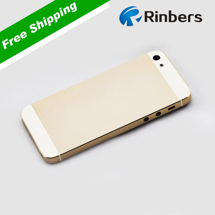 For iPhone 5S Back Cover Housing Replacement Middle Frame Bezel Repair  Part 5b6fe57e42
