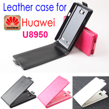 Original Huawei U8950 Leather Case Flip Cover Cell Phone Accessories Holster Case for Huawei U 8950 + Free Screen Protector
