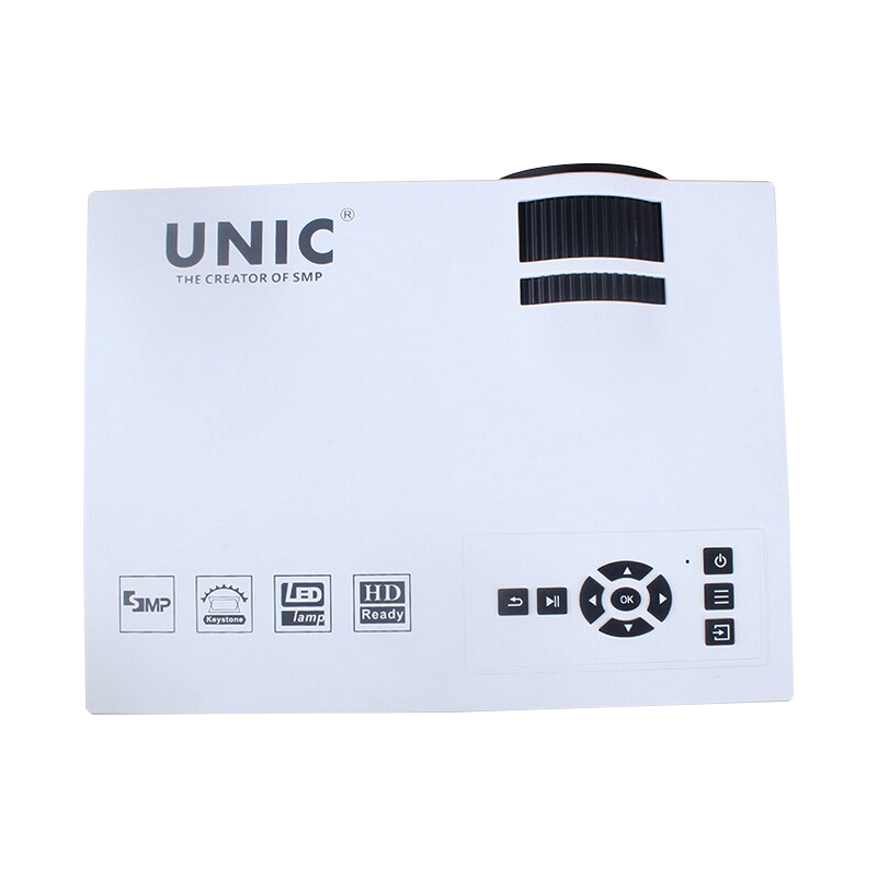 ФОТО Newest ! UNIC UC40 800Lumens 2.4G WIFI Mini Projector UC40 Upgrade HDMI AV USB SD IR Portable Home Theater Beamer Multimedia