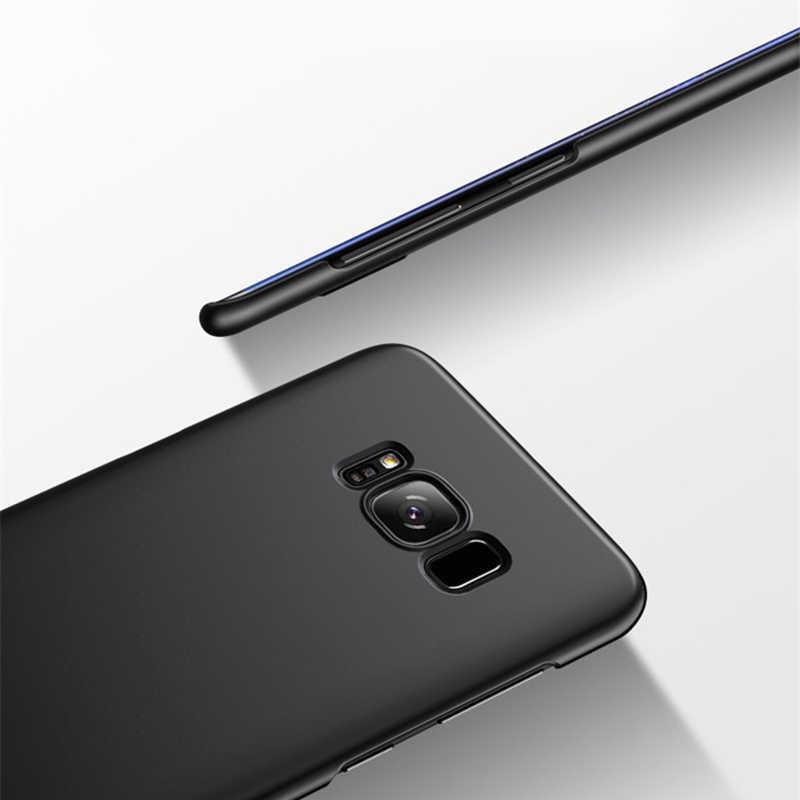 יוקרה Slim הקשיח במחשב לטלפון סמסונג גלקסי S5 Neo S6 S7 קצה S8 S9 בתוספת A3 A5 A7 j3 J5 J7 2015 2016 2017 ראש חזרה כיסוי