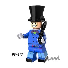 1PCS model building blocks action superheroes Penguin 2018 batman movie Dolls diy toys for children gift(China)