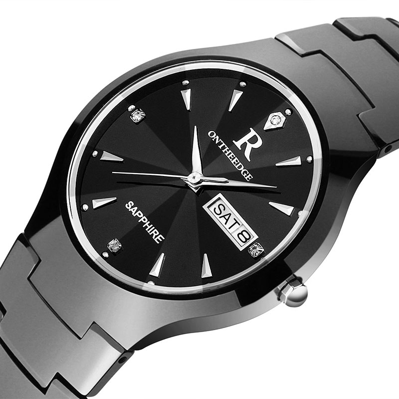 Luxury Brand Men Watch Sapphire Waterproof Watches Luminous Tungsten Steel Watches Relogio Masculino Business Quartz watches
