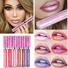Professional Makeup Liquid Lip 2019 New and Hot Diamond Shining Lipgloss Women Cosmetics Gliter Metallic Gloss