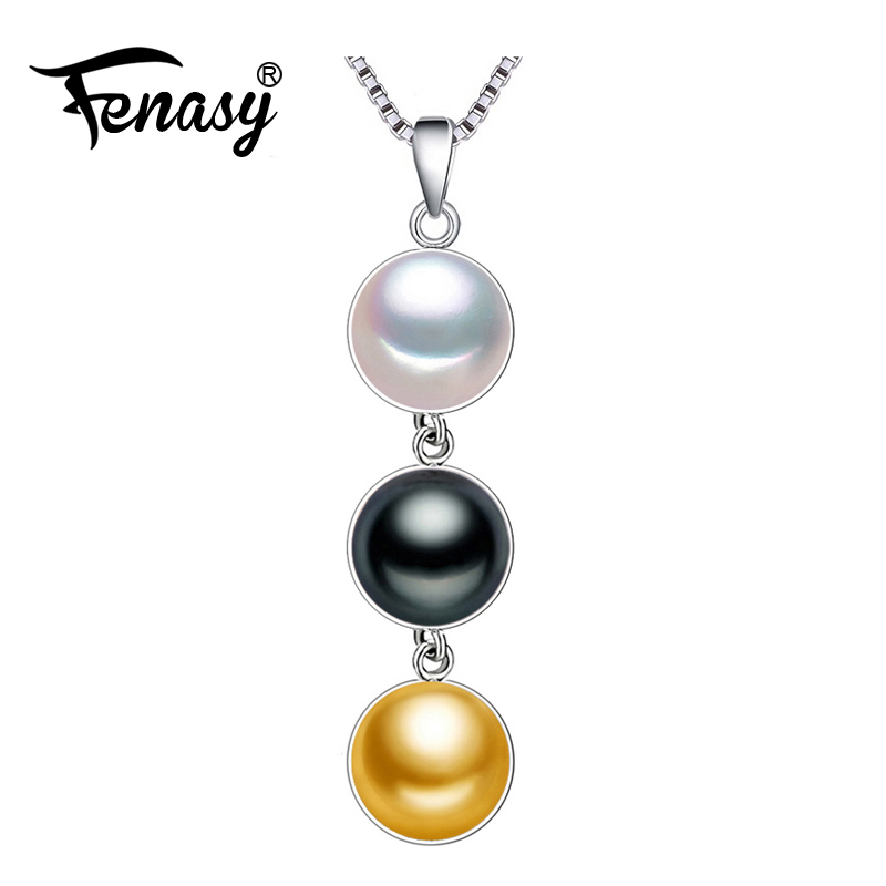 FENASY 2017 vintage accessories pearl necklace for women Wedding statement necklace,Freshwater Natural pearl bijoux femme