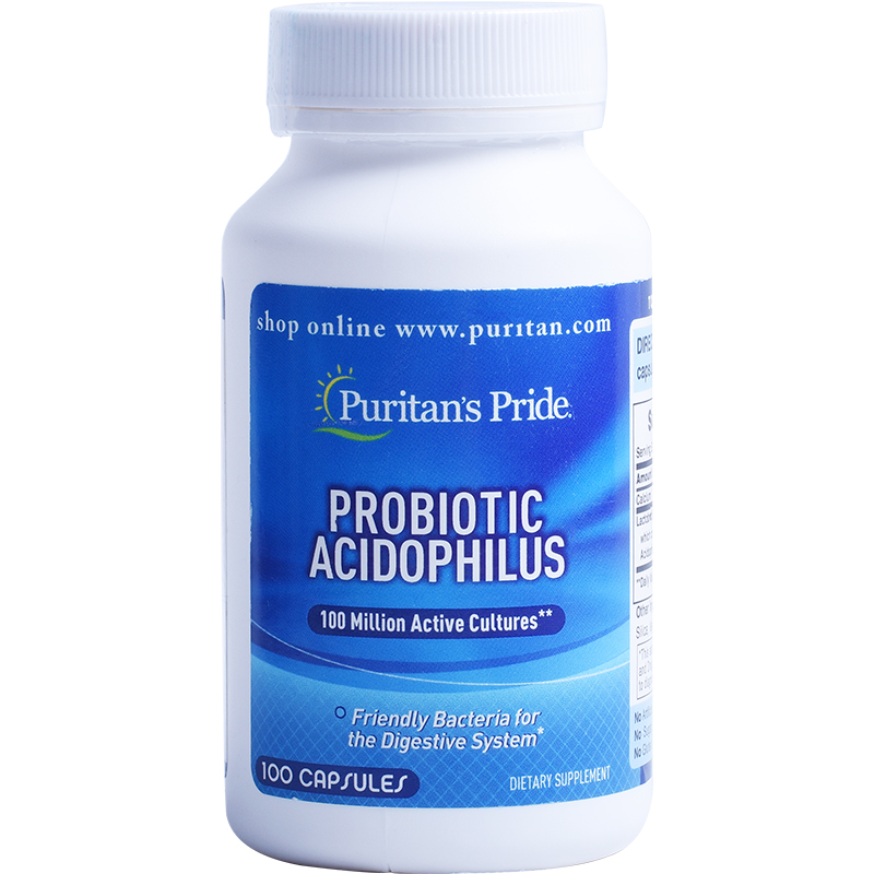 Free shipping probiotic acidophilus 100 pcsFree shipping probiotic acidophilus 100 pcs