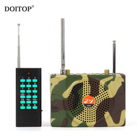 DOITOP Wireless Remote Control Camouflage Outdoor Teaching Loudspeaker Camping Sound Speaker Voice Amplifier Sound Diffusion 1km