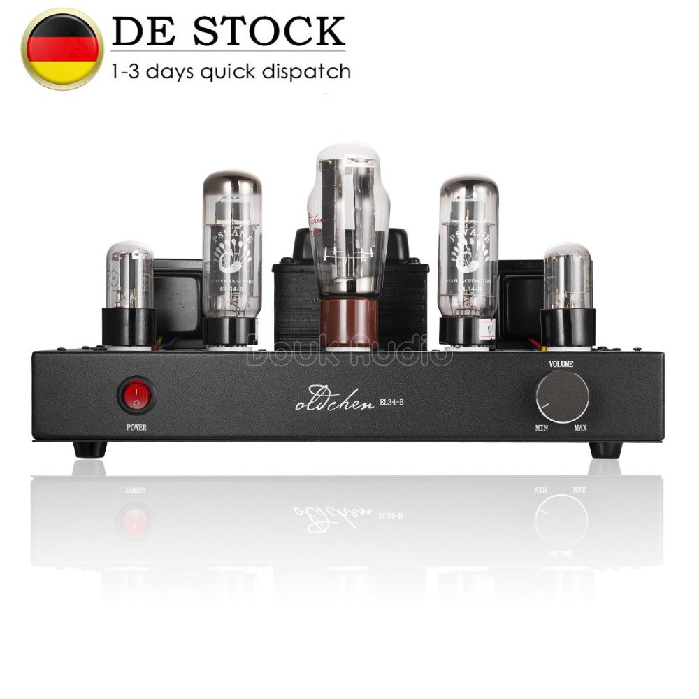 Nobsound 5U4G Push PSVANE EL34 Vacuum Valve Tube Amplifier HiFi Stereo Single-ended Class A Power Amplifier 2018 latest nobsound hi end 6n8p push pull psvane kt88 valve tube amplifier hifi stereo class a large power 45w 2 amplifier
