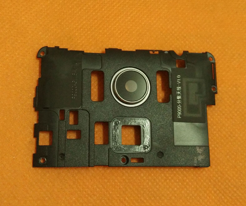 Utilisé Original Retour Cadre cas + camera lens verre pour Elephone P9000 MT6755 Octa Core 5.5 FHD 1080*1920 Livraison gratuite
