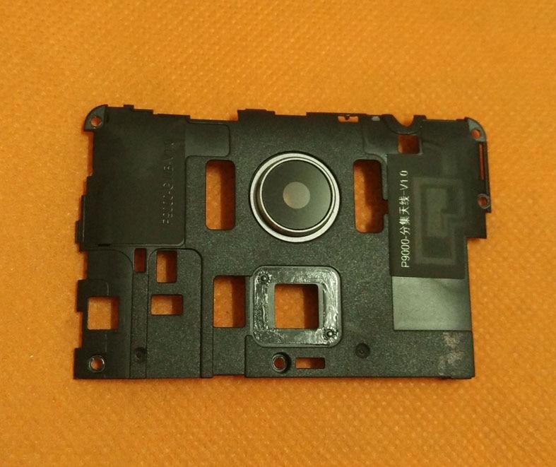Verwendet Original Zurück + kamera objektiv glas für Elefon P9000 MT6755 Octa-core 5,5