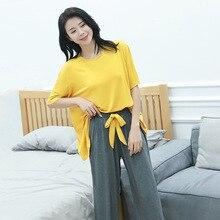 2019 new modal  Pajamas For Women Sexy Nightwear Ropa De Dormir Mujer 1084
