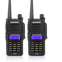 Baofeng R760 Waterproof IP57 Two Way Radio ham CB radio with screen 136-174mhz,400-520mhz upgrade police equipment
