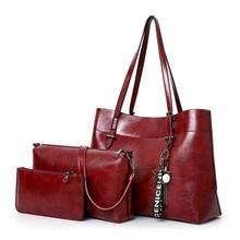 2019 Luxury Handbags plaid Women Bags Designer Simple Purses and Handbags Set 3 Pieces Composite Bag все цены