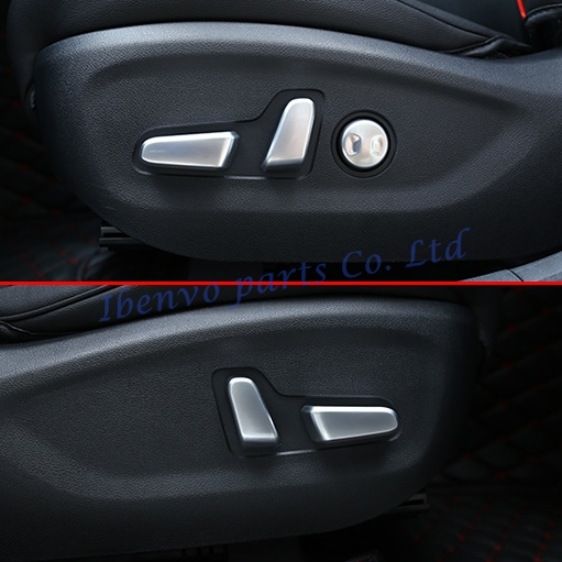 2017 Kia Sportage Transmission: 5Pcs Car Interior Seat Adjustment Switch Molding Overlay